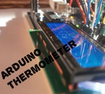 Arduino Thermometer With LM35