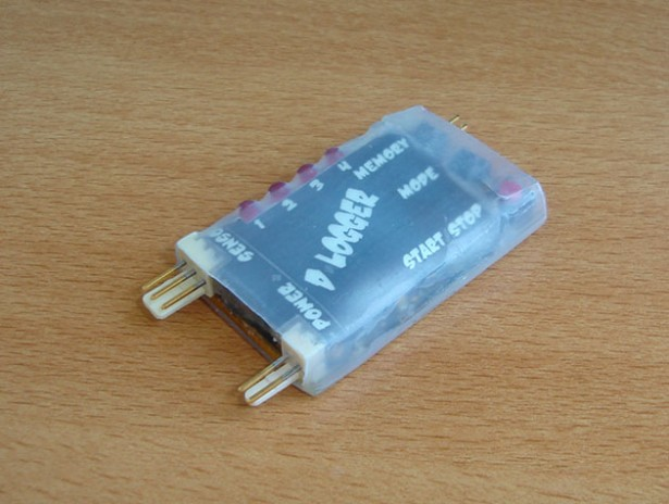 Helicopter Temperature Logger