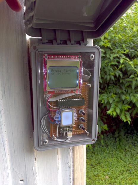Garage Door Fingerprint Lock