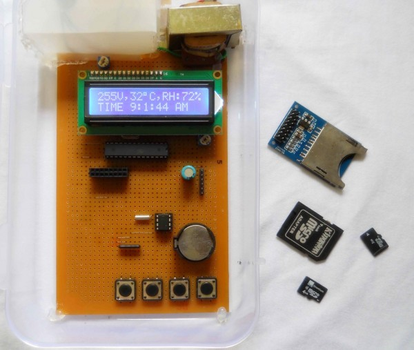 SD Card Data Recorder