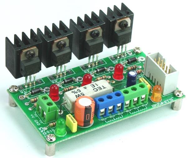 Unipolar 4 Phase Stepper Motor Controller