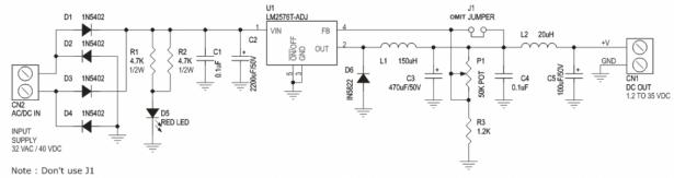 1.2V to 35V DC-DC Converter