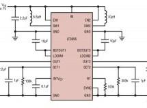 LT3095 – Dual-Channel Low Noise Bias Generators