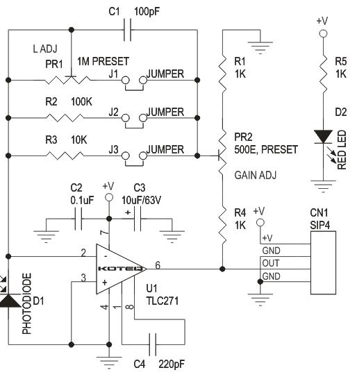 Lux Meter Module