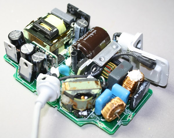 Macbook charger teardown The surprising complexity inside Apples power adapter