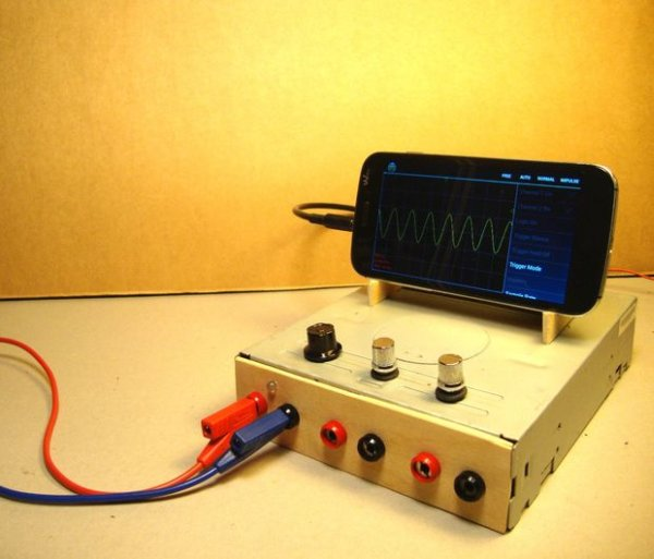 OscilloPhoneUse your Smartphone as an Oscilloscope Signal Generator