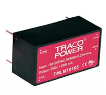 Save space on your PCB with TRACOPOWER!