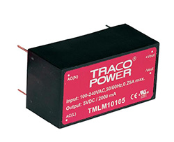 Save space on your PCB with TRACOPOWER