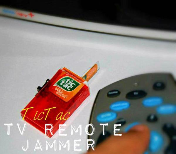 Tic-Tac TV Remote Jammer