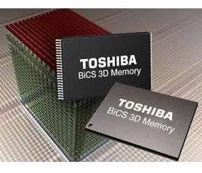 Toshiba launches 256-Gbit 48-layer 3-D NAND flash