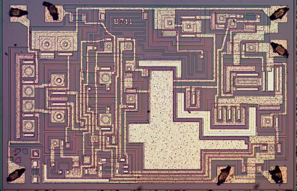 Understanding silicon circuits inside the ubiquitous 741 op amp