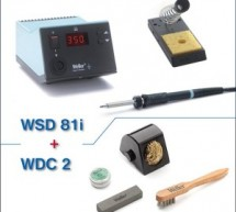 Weller WSD81i soldering station now with a cleaning set for free