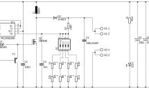 5V/400V DC/DC converter