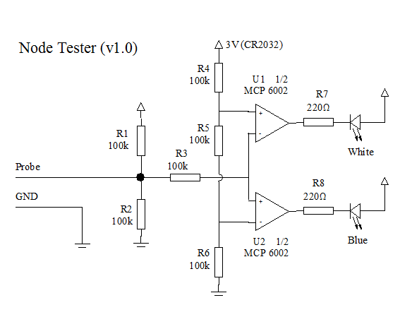Building a simple circuit probe
