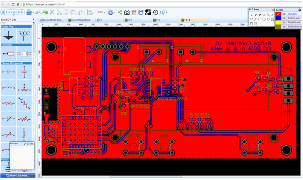 Circuit simulator and PCB design software - EasyEDA