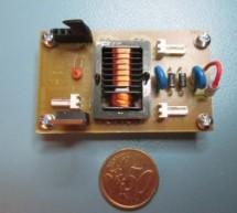 9V/1kV DC/DC converter