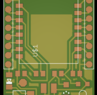 ESP8266 breadboard adapter board