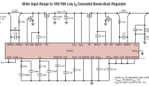 LTC7813 – Low IQ, 60V Synchronous Boost+Buck Controller