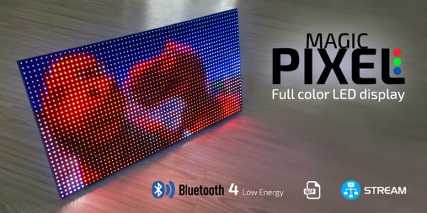 MAGIC PIXEL - Bluetooth full color LED display