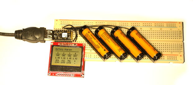 Smart Battery Charger (no soldering
