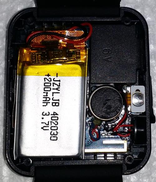 u8plus smart watch quick teardown and uart