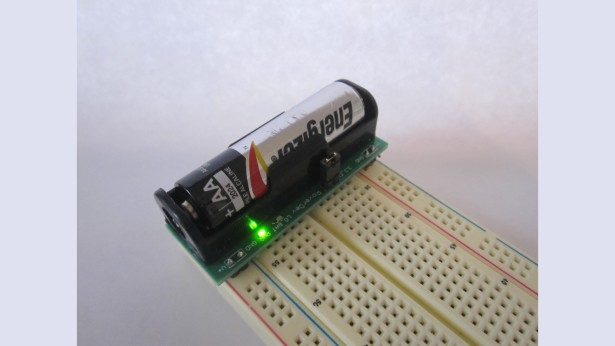 BooSTick - small AA voltage booster