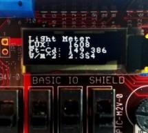 chipKIT Project 4: Digital light meter