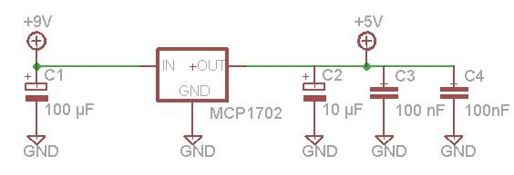 Microcontroller's based Password Locker schematic