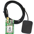 TMIK028 - GPS Click with Active GPS Antenna