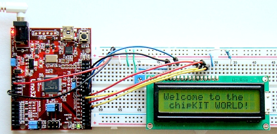 chipKIT Programming and Interfacing
