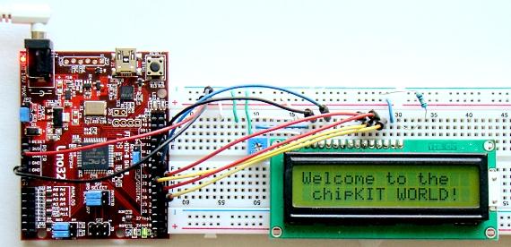 chipKIT Programming and Interfacing