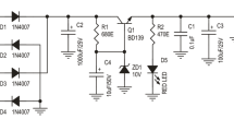 9 VDC Regulated Power Supply