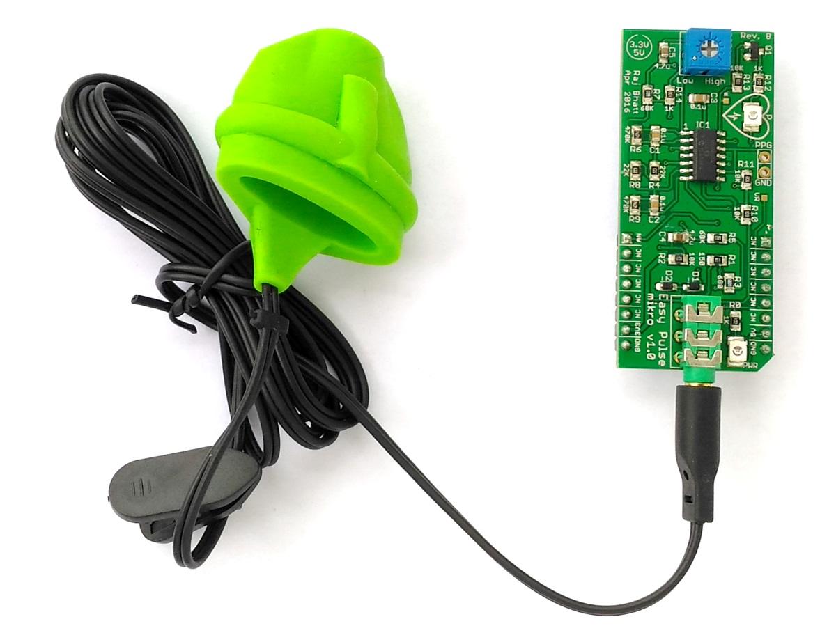 Easy Pulse mikro – A mikroBus compatible pulse sensor