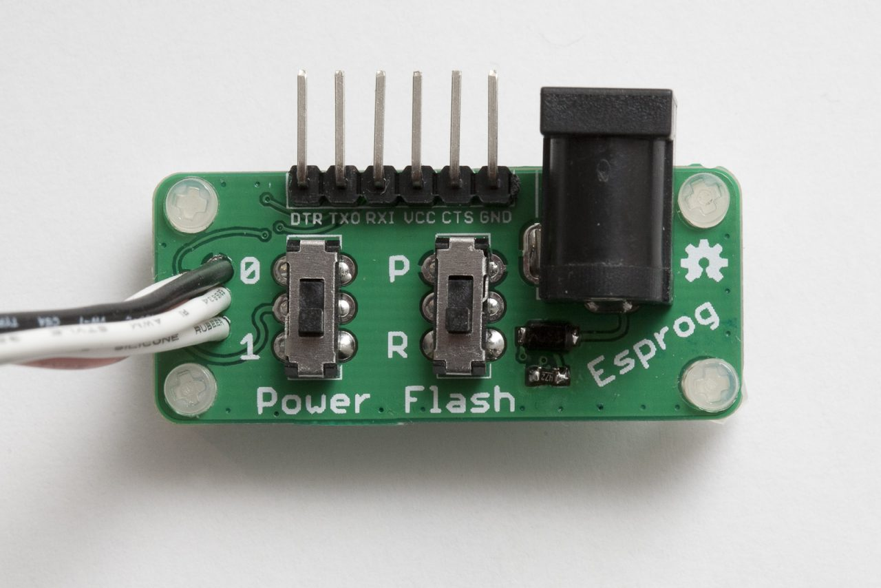 Factory programming ESP8266 gadgets