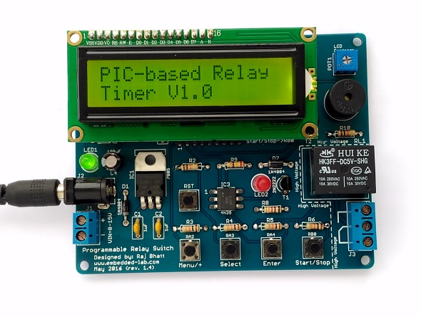 Programmable relay switch using PIC MCU (revised version)