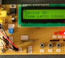 00 to 99 minute timer using PIC16F628A microcontroller
