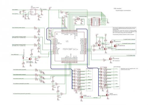Microcontroller Schematic