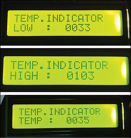 PIC Projects Digital Temperature Controller