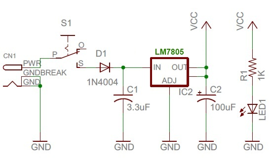 Schematic TrH Meter A DIY indoor thermometer plus hygrometer with adaptive brightness control implemented to 7-segment LED displays