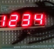 Using Multiplexed 7 Segment Displays – PIC Microcontroller Tutorial