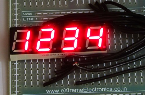 Using Multiplexed 7 Segment Displays – PIC Microcontroller Tutorial