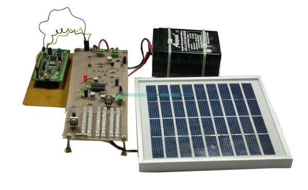 Auto intensity control of street lights using pic microcontroller