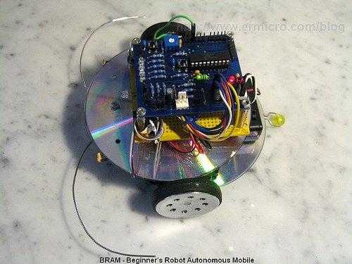 Building BRAM your first Autonomous Mobile Robot using Microchip PIC Microcontroller – Part 1