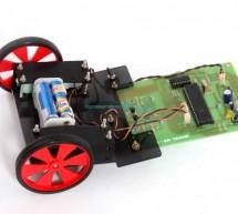 Line follower robot using microcontroller
