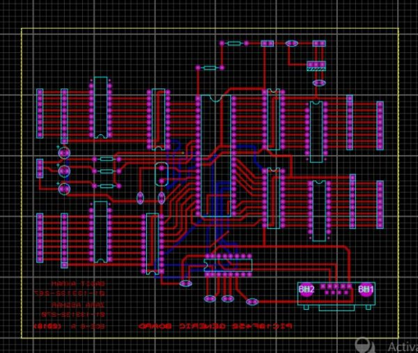 Schematic Making of PIC18F452 Micro-Controller Development-Generic Board