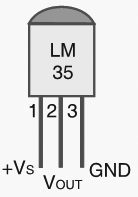 Schematic Temperature controlled fan using PIC 16F877A