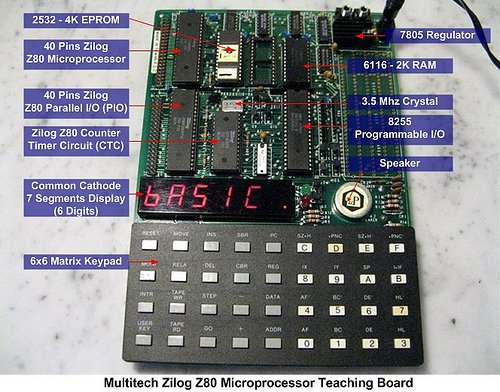 Seven Segment Display Thermometer with PIC Microcontroller