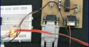 Transmitting and receiving data using UART protocol PIC Microcontroller