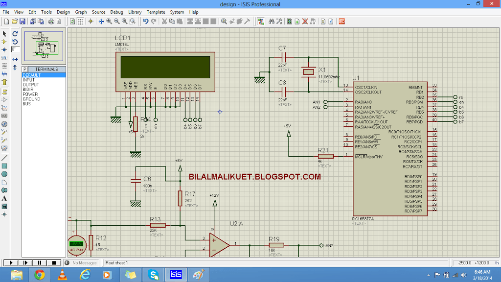 microcontroller based voltage measurement