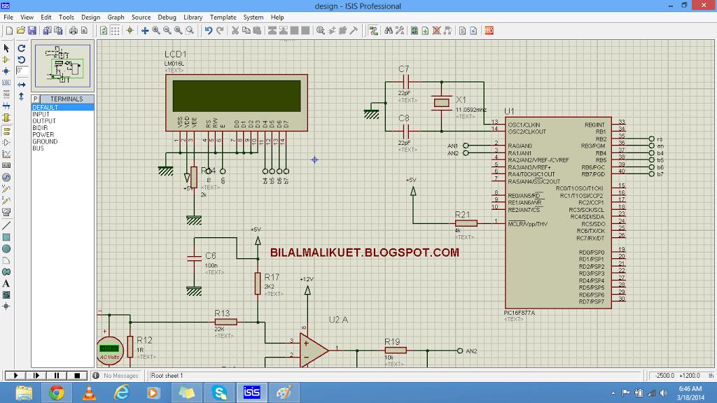 alternating current measurement using pic microcontroller